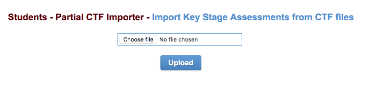 How do I import key stage 2 test results from NCA Tools